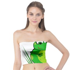 Green Frog Tube Top