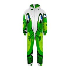 Green Frog Hooded Jumpsuit (Kids)