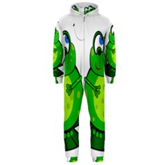 Green Frog Hooded Jumpsuit (Men)