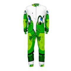 Green Frog OnePiece Jumpsuit (Kids)