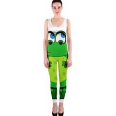 Green Frog OnePiece Catsuit