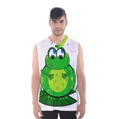 Green Frog Men s Basketball Tank Top