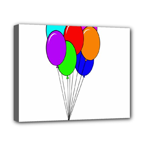 Colorful Balloons Canvas 10  x 8