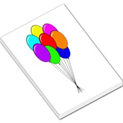 Colorful Balloons Large Memo Pads