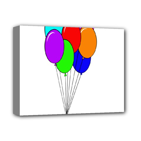 Colorful Balloons Deluxe Canvas 14  X 11