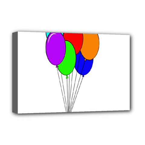 Colorful Balloons Deluxe Canvas 18  x 12