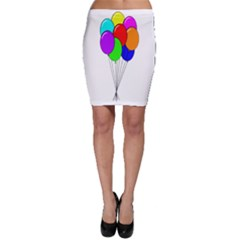 Colorful Balloons Bodycon Skirt