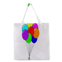 Colorful Balloons Grocery Tote Bag