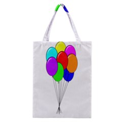 Colorful Balloons Classic Tote Bag