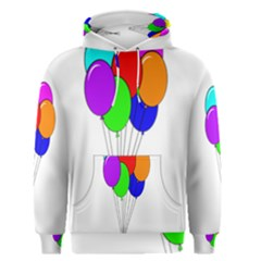 Colorful Balloons Men s Pullover Hoodie