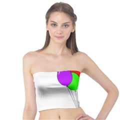 Colorful Balloons Tube Top