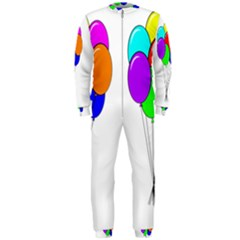 Colorful Balloons OnePiece Jumpsuit (Men)
