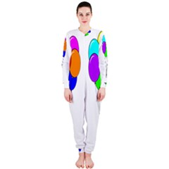 Colorful Balloons OnePiece Jumpsuit (Ladies)