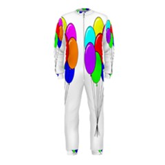 Colorful Balloons Onepiece Jumpsuit (kids)