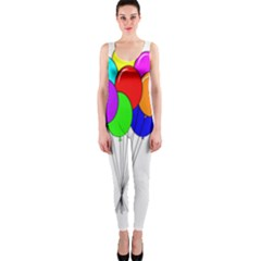 Colorful Balloons OnePiece Catsuit