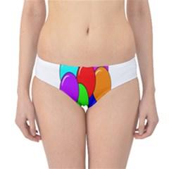 Colorful Balloons Hipster Bikini Bottoms