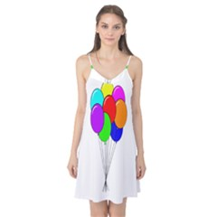 Colorful Balloons Camis Nightgown