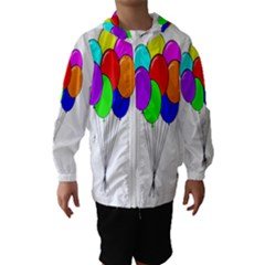 Colorful Balloons Hooded Wind Breaker (kids)