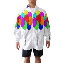 Colorful Balloons Wind Breaker (Kids)