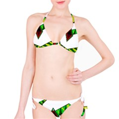 Decorative Snake Bikini Set