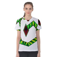 Decorative Snake Women s Cotton Tee