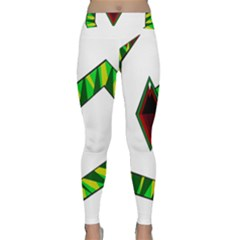 Decorative Snake Yoga Leggings