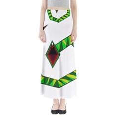 Decorative Snake Maxi Skirts