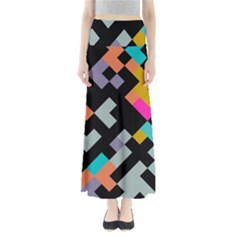 Connected shapes                               Women s Maxi Skirt