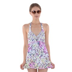 Hexagons              Skater Dress Swimsuit