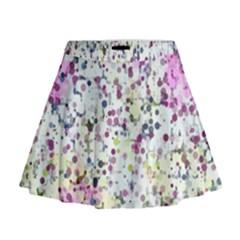 Hexagons                                                                               Mini Flare Skirt