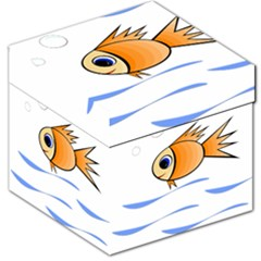 Cute Fish Storage Stool 12