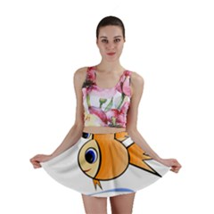 Cute Fish Mini Skirt