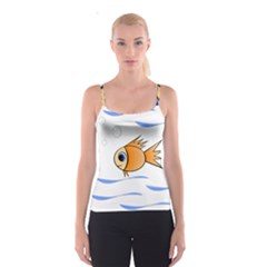 Cute Fish Spaghetti Strap Top