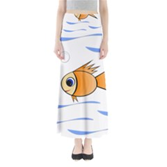 Cute Fish Maxi Skirts