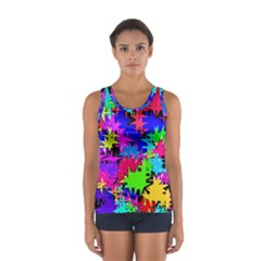 Colorful Shapes                                                                             Women s Sport Tank Top