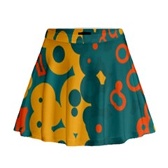 Bubbles                                                                                Mini Flare Skirt