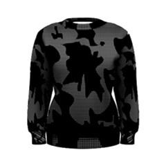 Decorative Elegant Design Women s Sweatshirt