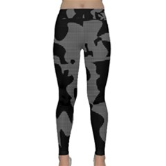 Decorative Elegant Design Yoga Leggings