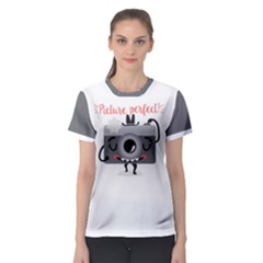 Picture Perfect! Women s Sport Mesh Tee