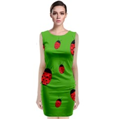 Ladybugs Classic Sleeveless Midi Dress