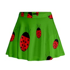 Ladybugs Mini Flare Skirt