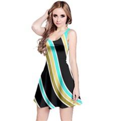 Elegant Lines Reversible Sleeveless Dress