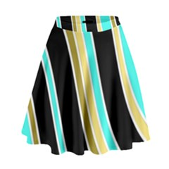Elegant Lines High Waist Skirt