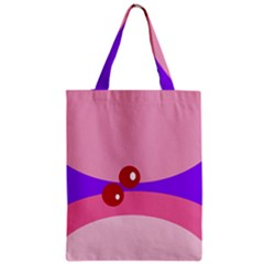 Decorative Abstraction Zipper Classic Tote Bag