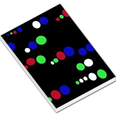 Colorful Dots Large Memo Pads