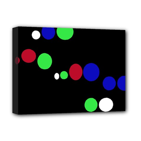 Colorful Dots Deluxe Canvas 16  x 12