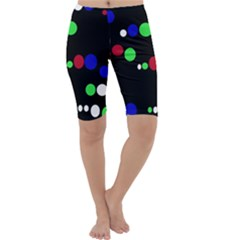 Colorful Dots Cropped Leggings