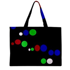 Colorful Dots Zipper Mini Tote Bag