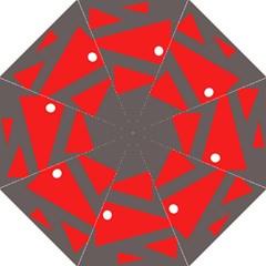 Decorative Abstraction Hook Handle Umbrellas (medium)