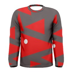 Decorative Abstraction Men s Long Sleeve Tee